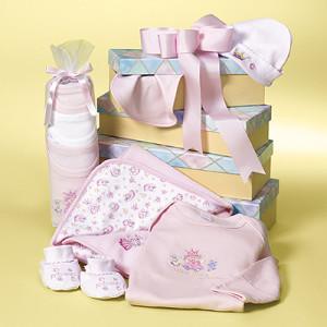 Alguns itens da lista de enxoval de bebê