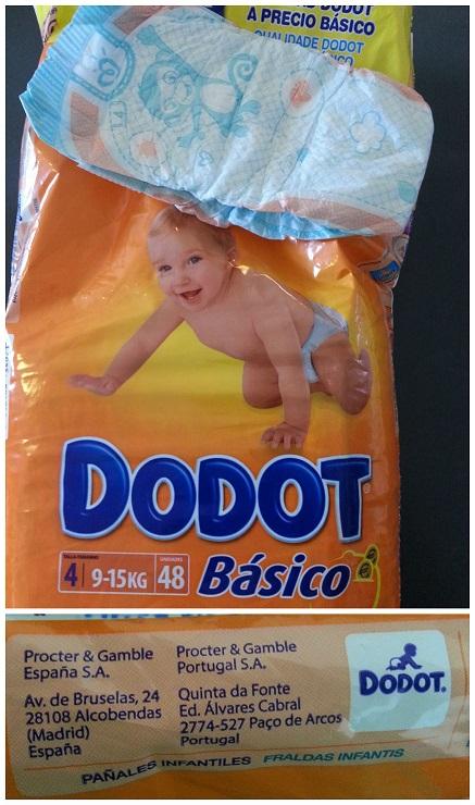 Produtos para Bebês na Espanha