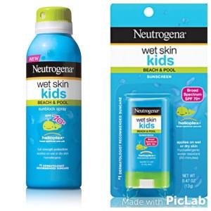 neutrogena wet skin protetor solar