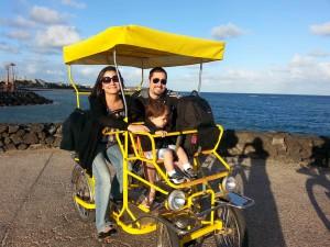 Passeio de bicicleta em família costa teguise lanzarote as melhores viagens de pititico o pequeno viajante