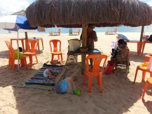 bar da lu rio carapitangui curtindo uma praia com as avos o pequeno viajante