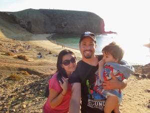 pititico na playa papagayo lanzarote o pequeno viajante as melhores viagens do eric 2