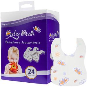 babador descartavel mamae tagarela 25 Itens de Um Enxoval de Bebê Moderno (de 0 a 2 anos)