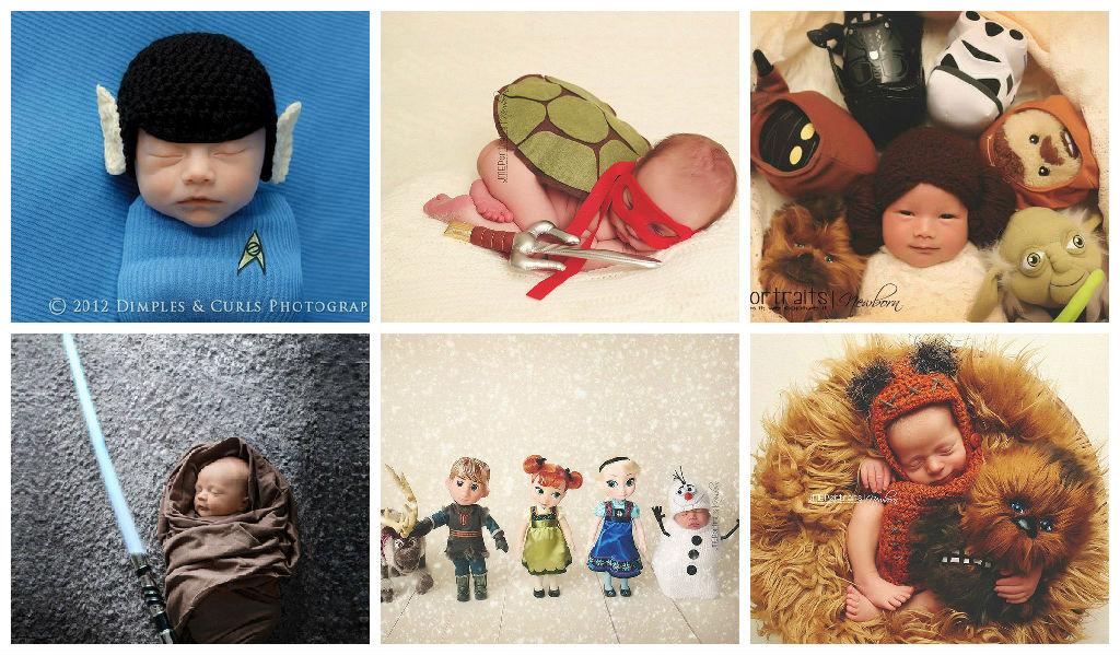 30 Idéias de Fotos Para um Ensaio Newborn Diferente