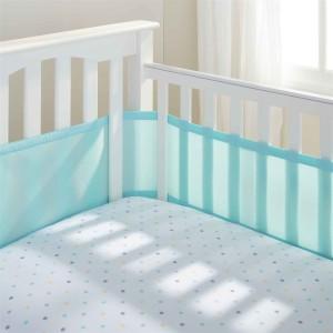 tela protetora para a lateral do berço kit berço respirável mamae tagarela 25 Itens de Um Enxoval de Bebê Moderno (de 0 a 2 anos)