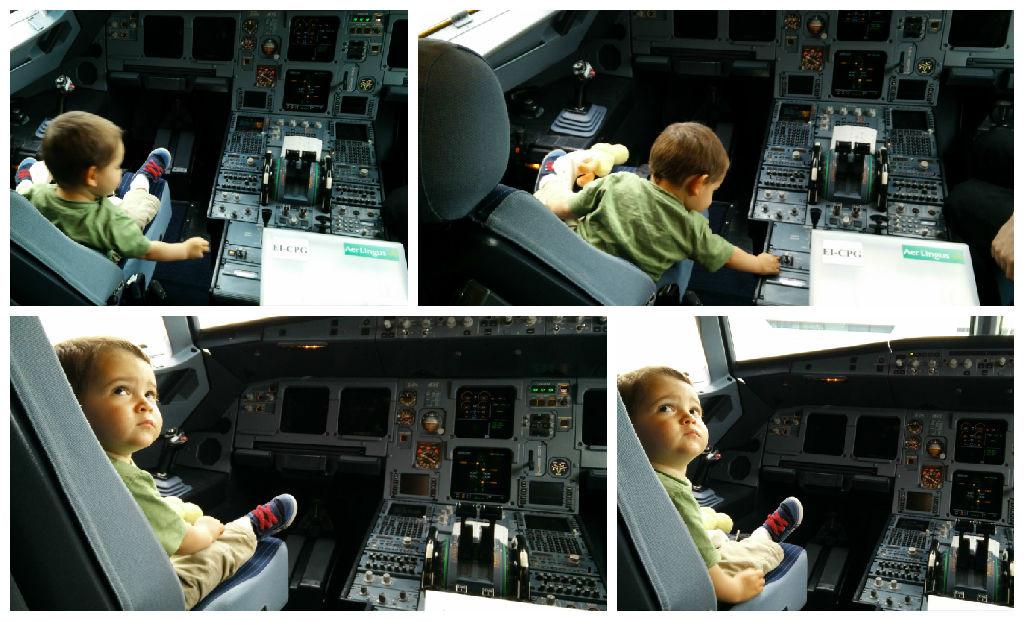 Tudo Sobre Viagem de Aviao com Bebes e Criancas pititico na aer lingus