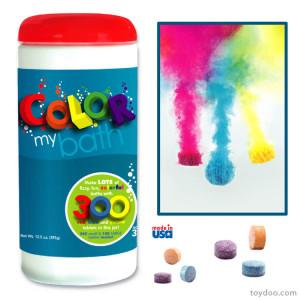 color my bath comprimidos efervescentes de colorir a agua do banho da criança 10 Engenhocas Que Vao Facilitar o Banho do Seu Filho (de 0 a 3 anos) mamae tagarela