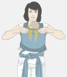 passo a passo de como colocar o bebe no wrap sling mamae tagarela (15)