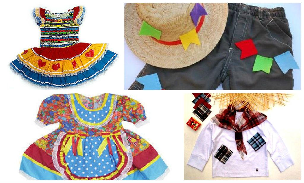 Roupas Infantis de Festa Junina: Comprar ou Customizar
