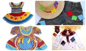roupas infantis de festa junina mamae tagarela foto de capa