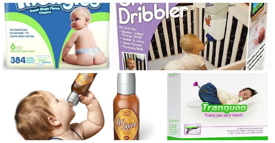 15 Produtos Estranhos Para Bebês