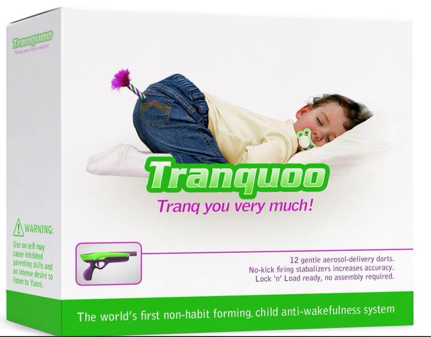 aerosol tranquilizante para as criancas dormirem