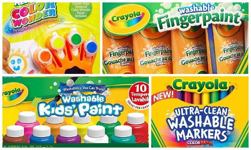 Produtos da Crayola Para Pintar e Desenhar