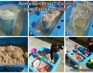 Fazendo Areia Caseira Para Brincar em Dias Chuvosos