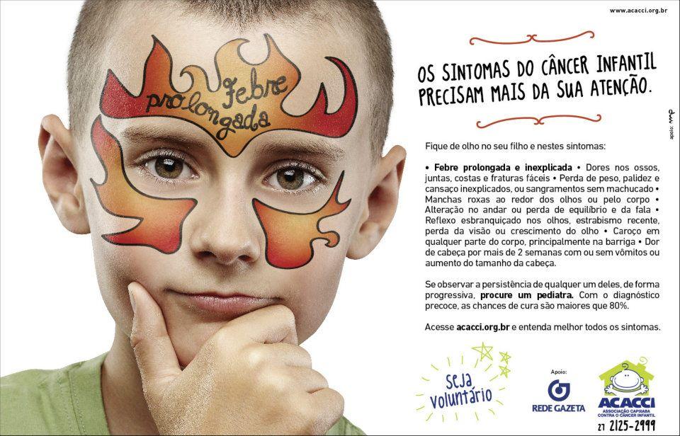 sinais de cancer infantil 4