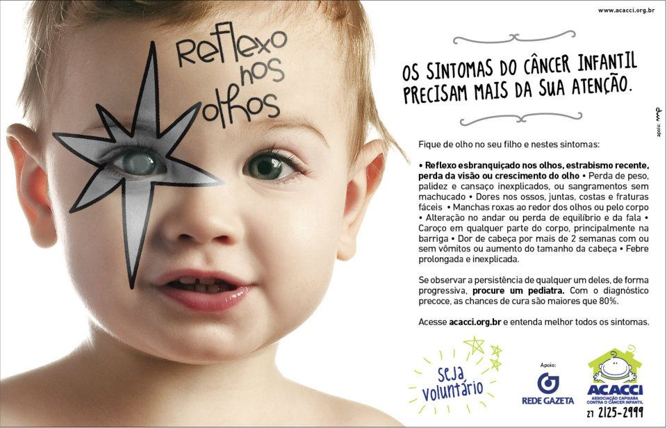 sinais de cancer infantil