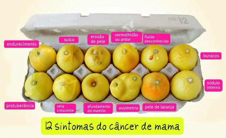 12 sintomas do cancer de mama o que procurar