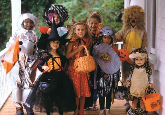 Halloween, o Dia das Bruxas e as Crianças