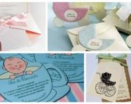 21 Idéias Para Convites de Chá de Bebê
