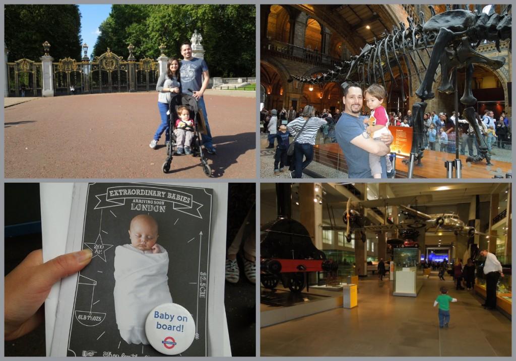 Londres com Crianças (e Grávida)