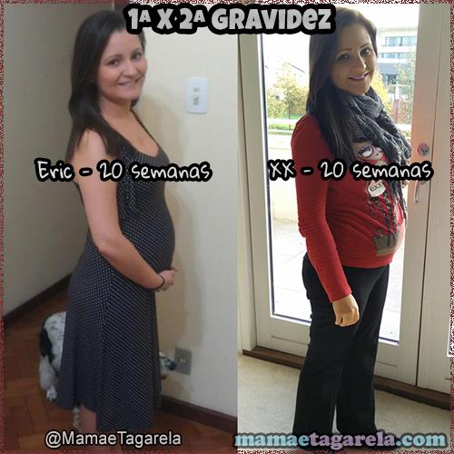 10 diferencas entre a primeira e a segunda gravidez