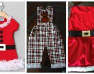 Natal: Idéias de Roupas Para Bebês e Crianças