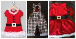 Natal Ideias de Roupas Para Bebes e Criancas