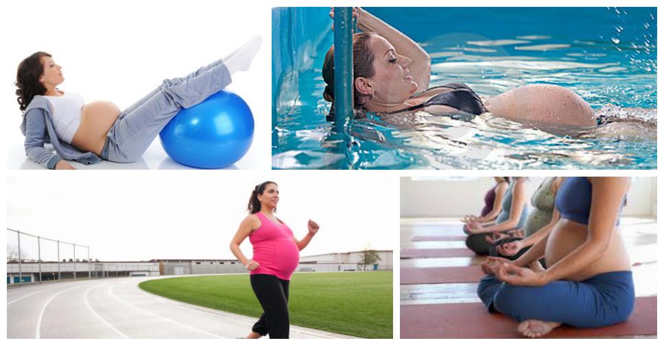 Os 4 melhores exercicios na Gestacao
