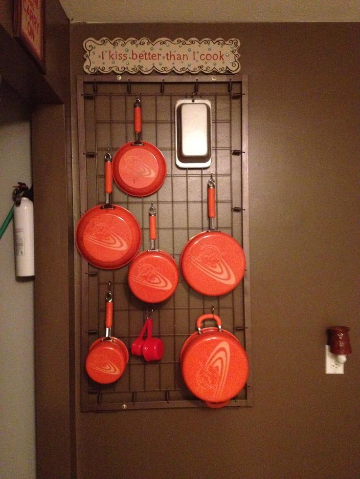 ideia 4 de como reaproveitar o berco porta utensilios 3