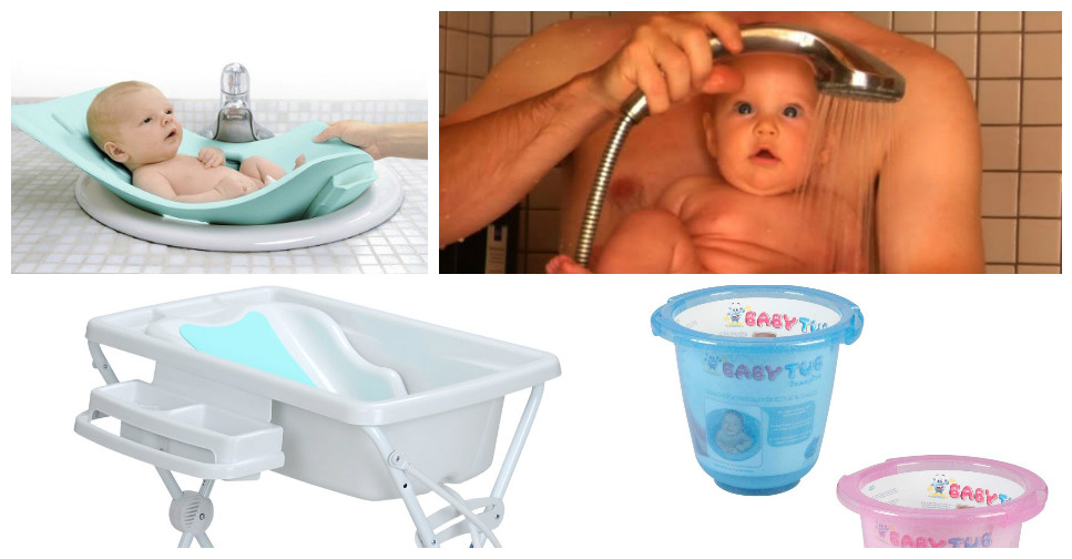 Dicas de Banheiras e Banho do Recém Nascido