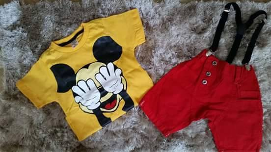 6 roupa do mickey