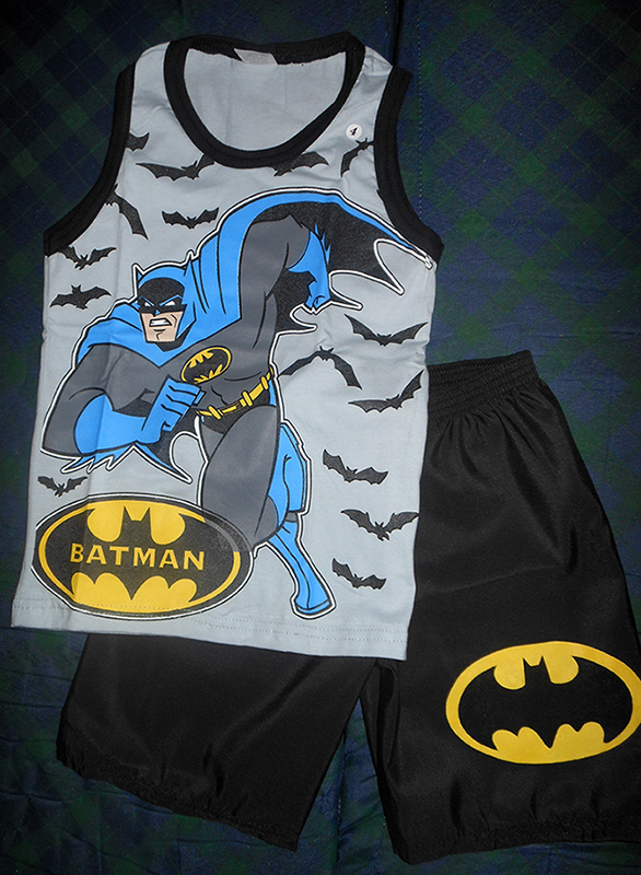 9 conjunto fresco batman