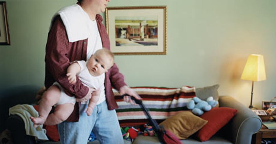 Não Ajudo a Minha Mulher com as Crianças e Nem com a Casa