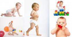 Desenvolvimento Infantil de 1 a 36 Meses andar sentar