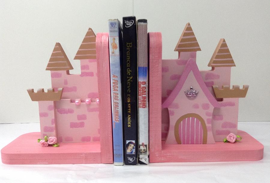 aparador de livros castelo da pricesa porta livros