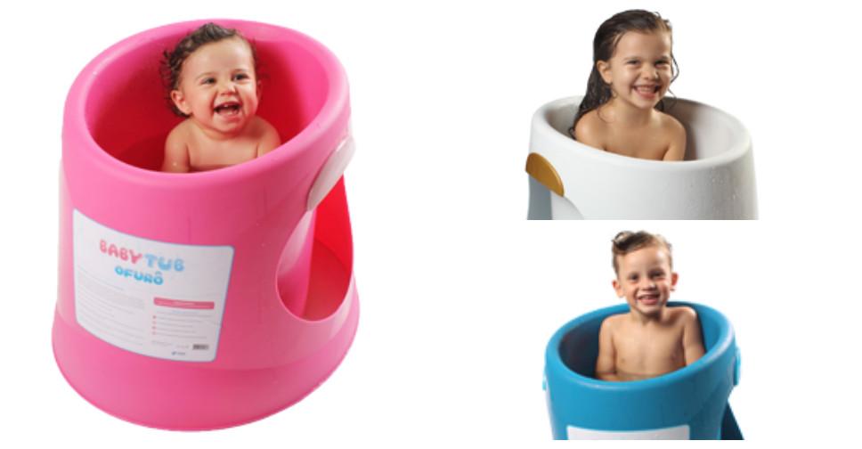 Banheira Ofurô Para Grandinhos (1 a 4 anos)