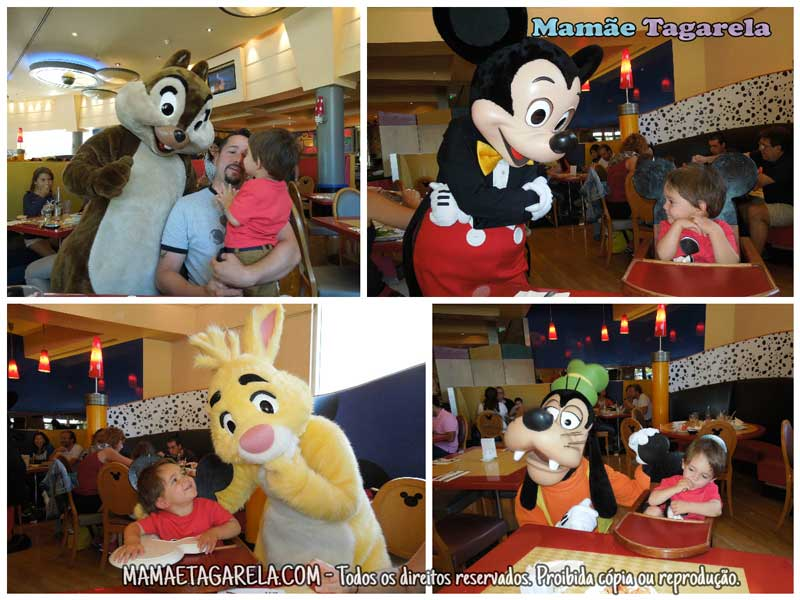 Disneyland Paris Mamae Tagarela Cafe Mickey