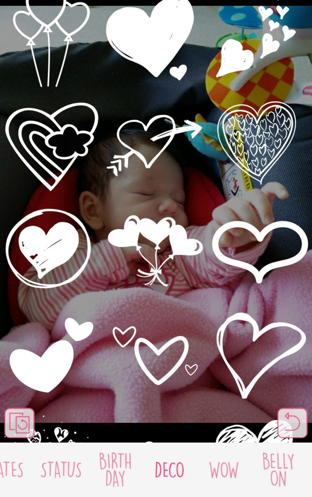 aplicativo baby story 2 foto da Mia mamae tagarela
