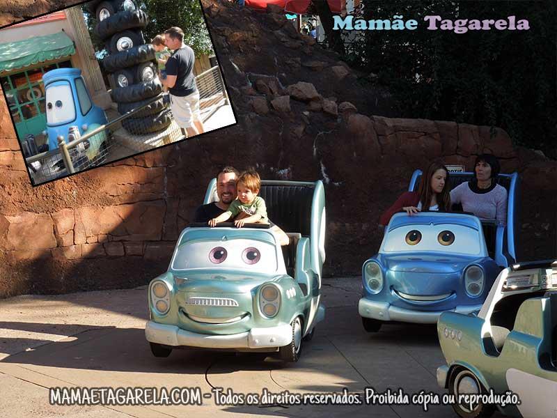 disneyland paris mamae tagarela Cars quatre roues rallye
