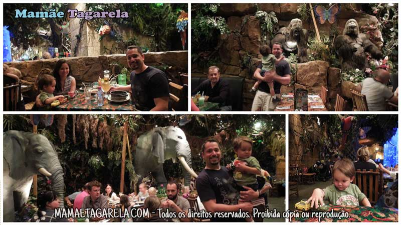 disneyland paris mamae tagarela rainforest cafe