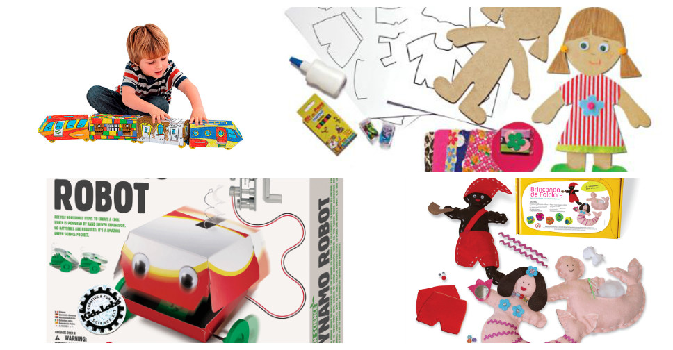 Brinquedos que Estimulam a Criatividade das Crianças