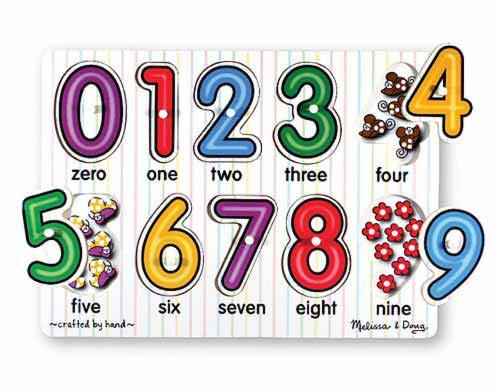 10 numeros e letras de encaixar