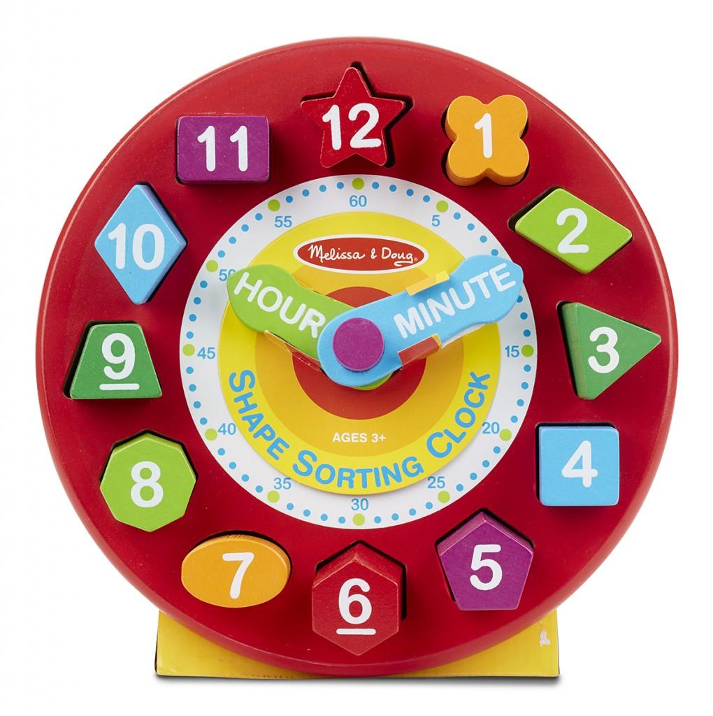 11 relogio com numeros e formas