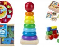 18 Brinquedos de Madeira Para Aprender Brincando