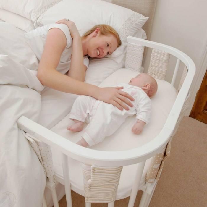 Bercos Acoplados para Cama Compartilhada Co Sleeper (1)