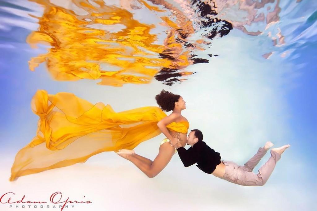 Ensaio Gestante Subaquático 12 - Adam Opris Photography