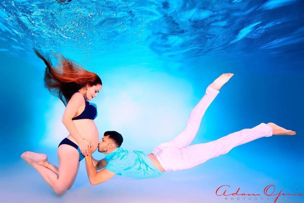 Ensaio Gestante Subaquático 24 - Adam Opris Photography