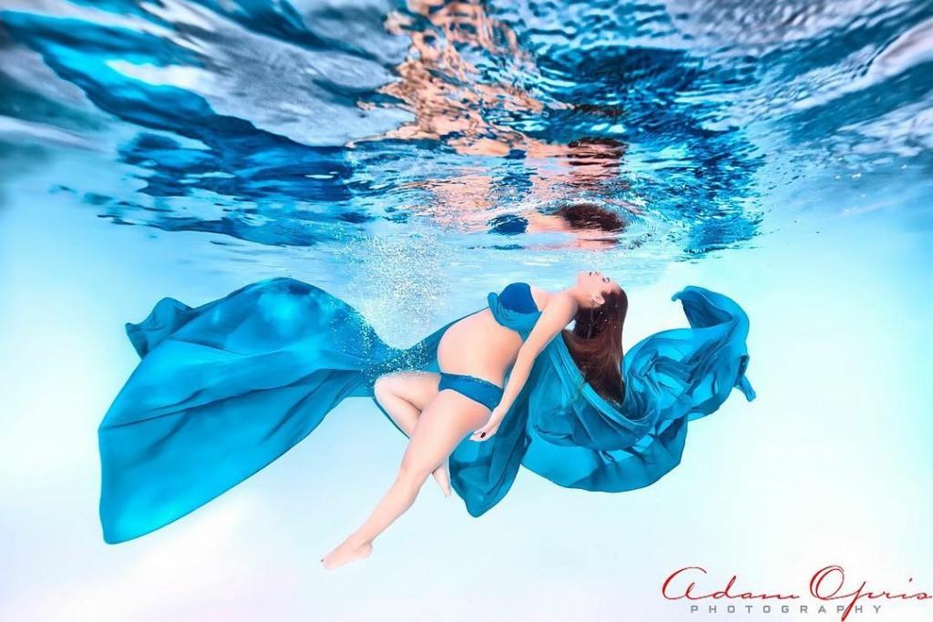 Ensaio Gestante Subaquático 37 - Adam Opris Photography