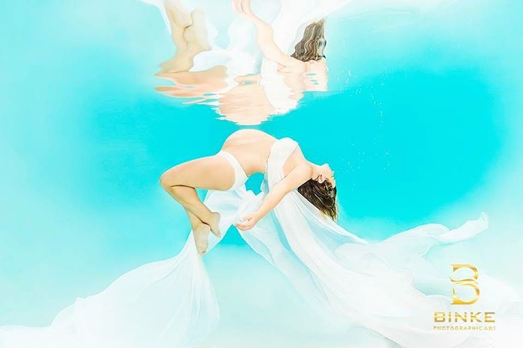 Ensaio Gestante Subaquático 18 - Binke Photographic Art