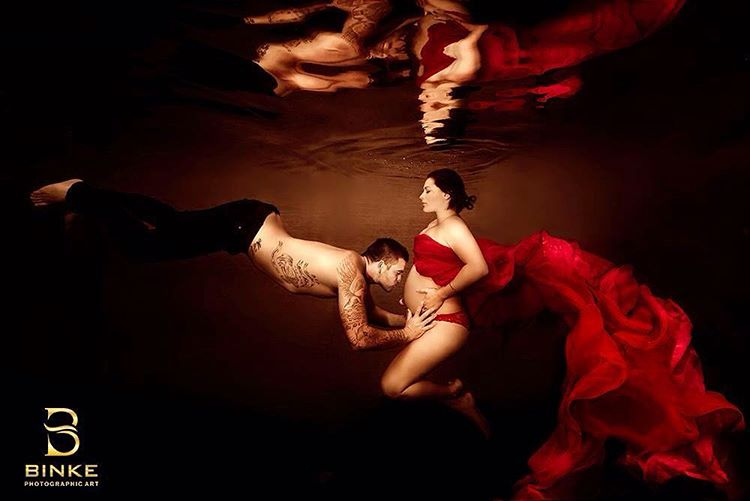 Ensaio Gestante Subaquático 03 Binke Photographic Art